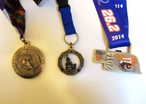 Medals with State shapes